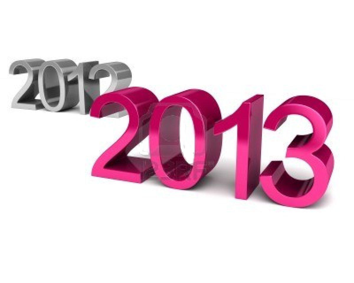 تصویر پس زمینه خفن برای تبریک سال نو میلادی 2013